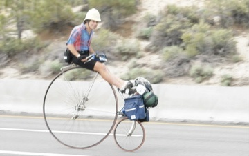 Final Sierra Descent up to 40 mph for 1/2 hour
