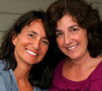 Maria with her sister Jenny who died of brain cancer. Hear Maria and Martin Krieg talk about her upcoming Race Across America for Jenny - http://bikeroute.com/NationalBicycleGreenwayNews/2013/04/02/podcast-50-yo-cruz-bike-maria-to-do-2013-raam-for-sister/
